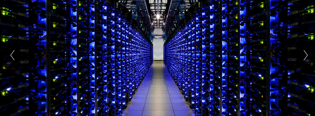 Google Servers Big Data