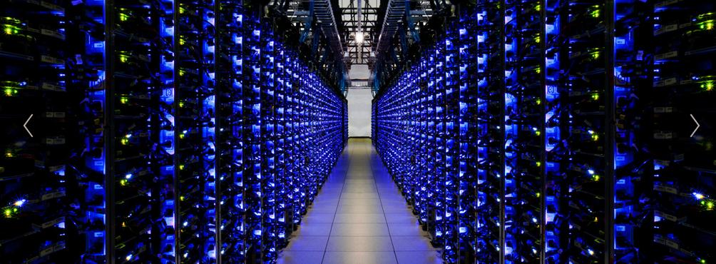 Google Servers Big Data