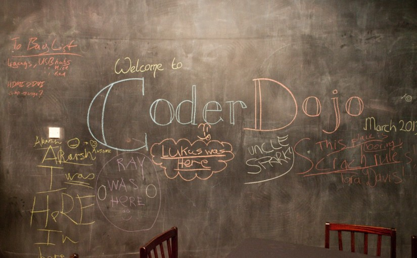 CoderDojo Back for Autumn 2015 Term