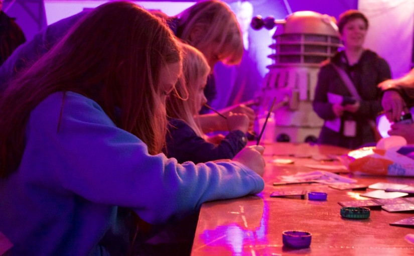 Guest Post: CULTURETECH BBC MAKE IT DIGITAL DOTS BOARDS ACTIVITY