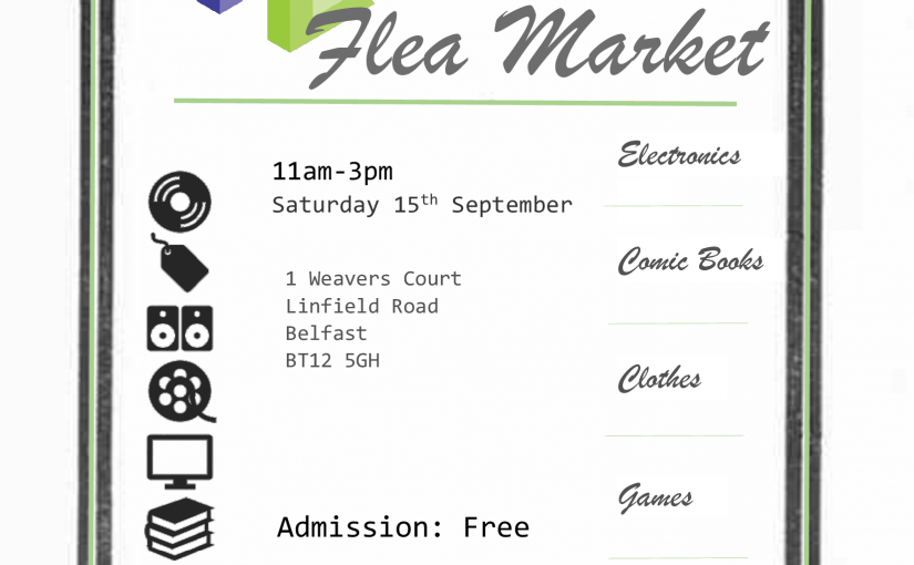 Farset Flea Market – Saturday 15th September